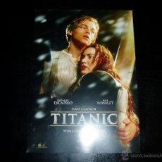 Cinéma: TITANIC. GUIA PUBLICITARIA SENCILLA. ORIGINAL.MAGNIFICO ESTADO.. Lote 50521356