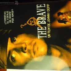 Cine: GUIA DOBLE THE BRAVE .- MARLON BRANDO -JOHNNY DEEP. Lote 50536236