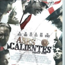 Cine: GUÍA PUBLICITARIA DE LA PELÍCULA ASES CALIENTES, ORIGINAL, 20 POR 30CM. Lote 50843618