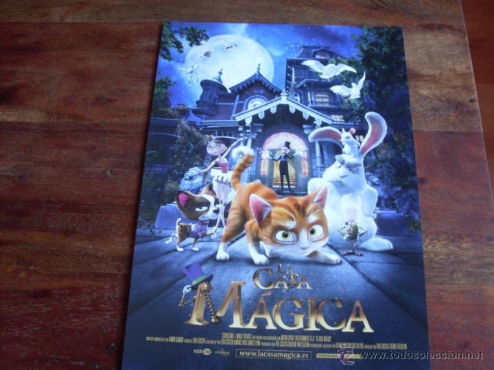 LA CASA MAGICA - ANIMACION - GUIA ORIGINAL VERCINE AÑO 2013 (Cine - Guías Publicitarias de Películas )