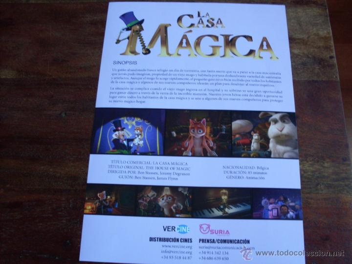 Cine: la casa magica - animacion - guia original vercine año 2013 - Foto 2 - 50891932