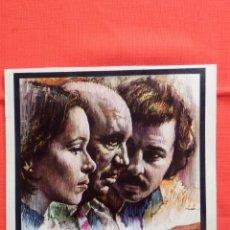 Cine: Y EL PROJIMO, GUÍA DOBLE, GERALDINE CHAPLIN ANTONIO FERRANDIZ, 1974. Lote 51090394