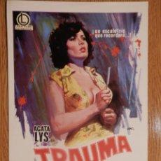 Cine: TRAUMA - AGATA LYS - VER FOTOS Y DESCRIPCION. Lote 51368291