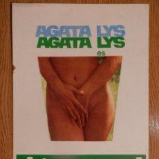 Cine: EL TRANSEXUAL - AGATA LYS - VER FOTOS Y DESCRIPCION. Lote 51368358