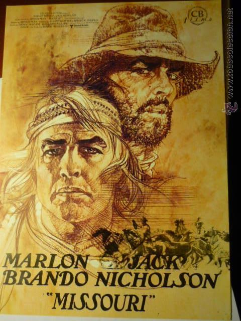 GUIA MISSOURI-MARLON BRANDO 8 PAG (Cine - Guías Publicitarias de Películas )