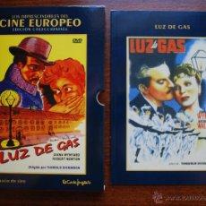 Cine: LUZ DE GAS (GASLIGHT) (T. DICKINSON, 1940, A. WALBROOK) (LIBRETO + CAJA, NO DVD) (VER FOTOS). Lote 51674863