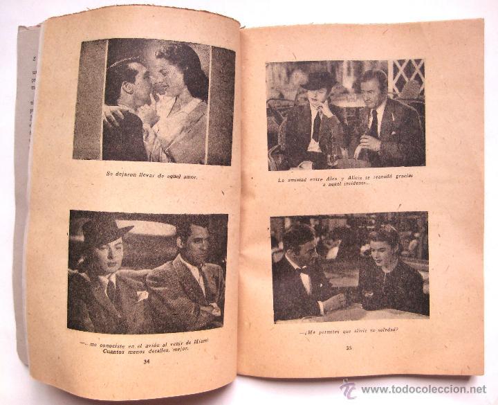 Cine: GUIA / ARGUMENTO *ENCADENADOS* DE ALFRED HITCHCOCK. INGRID BERGMAN CARY GRANT. EDICIONES BISTAGNE - Foto 3 - 51730951