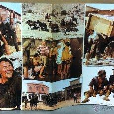 Cine: TEDEUM 1972 (GUIA ORIGINAL DE LUJO 6 PAGINAS CON MUCHAS FOTOS EN COLOR) JACK PALANCE EDUARDO FAJARDO. Lote 52273195