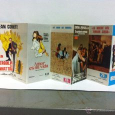 Cinéma: CALENDARIO DESPLEGABLE 1972 HISPAMEX FILMS.. Lote 52484909