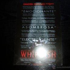 Cine: WHIPLASH. GUIA PUBLICITARIA SENCILLA. ORIGINAL.. Lote 107404615
