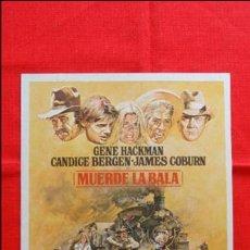 Cine: MUERDE LA BALA, GUIA TRIPTICO, GENE HACKMAN CANDICE BERGEN, 1975. Lote 52889317