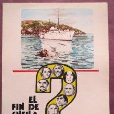 Cine: EL FIN DE SHEILA. Lote 53188139
