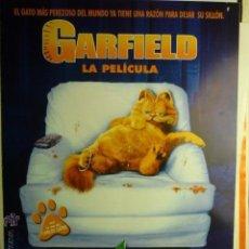 Cine: GUIA DOBLE GARFIELD. Lote 53404578