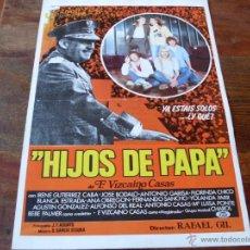 Cinéma: HIJOS DE PAPA - JOSE BODALO, AGUSTIN GONZALEZ, ANA OBREGON - DIR.RAFAEL GIL. Lote 53433032