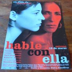 Cinéma: HABLE CON ELLA - JAVIER CAMARA, LEONOR WATLING,ROSARIO FLORES - DIR. PEDRO ALMODOVAR - GUIA ORIGINAL. Lote 53433790