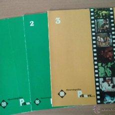 Cine: LISTAS DE MATERIAL PELIMEX --N1-Nº2-Nº3. Lote 53709498
