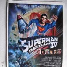 Cinema: AX1159 SUPERMAN IV 10 GUIAS A 25€ O 100 GUIAS A 125€ ENVIO INCLUIDO. Lote 103534579
