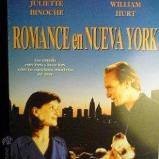 Cine: GUIA DOBLE ROMANCE EN NUEVA YORK - JULIETTE BINOCHE- WILLIAM HURT. Lote 53779378