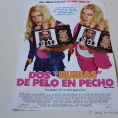 Cine: DOS RUBIAS DE PELO EN PECHO - MARLON Y SHAWN MAYANS, ANNE DUDEK. Lote 54182554