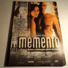 Cine: MEMENTO. GUIA PUBLICITARIA. (CA-1). Lote 54204975