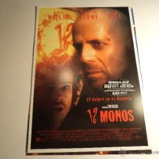 Cine: 12 MONOS. GUIA PUBLICITARIA. (CA-10). Lote 54213708