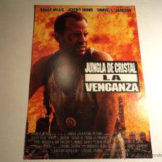 Cine: JUNGLA DE CRISTAL. LA VENGANZA. GUIA PUBLICITARIA. (CA-10). Lote 54213730