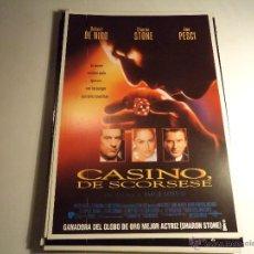 Cine: CASINO. GUIA PUBLICITARIA. (CA-10). Lote 54213809