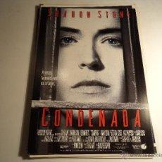 Cine: CONDENADA. GUIA PUBLICITARIA. (CA-11). Lote 54213911