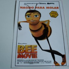 Cine: BEE MOVIE - ANIMACION - GUIA ORIGINAL. Lote 54266964