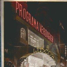 Cine: CATALOGO - GUIA - PROGRAMA - CINEMATOGRAFICA VERDAGUER, S.A.- AÑOS 1925 / 1926. Lote 54530010