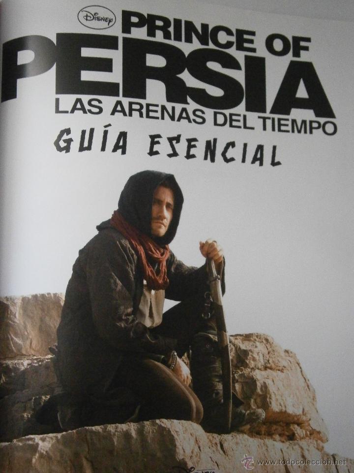 Cine: EL PRINCIPE DE PERSIA PRINCE OF PERSIA LAS ARENAS DEL TIEMPO GUIA ESENCIAL Disney 2010 - Foto 2 - 54541944