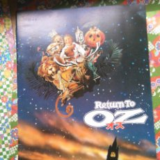 PRESS BOOK GUIA JAPONESA RETURN TO OZ EL MAGO DE OZ RETORNO A WALT DISNEY PICTURES