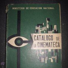 Cine: CATALOGO DE LA CINEMATECA - MINISTERIO EDUCACION NACIONAL - MADRID 1960 - VER FOTOS - (V-4583). Lote 54766523