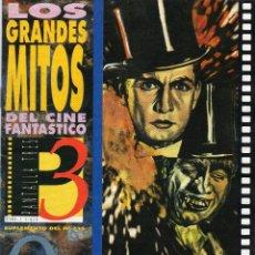 Cinema: LOS GRANDES MITOS DEL CINE FANTASTICO - DR JEKYLL Y MR.HYDE - PANTALLA.3 - Nº.9. Lote 54878587