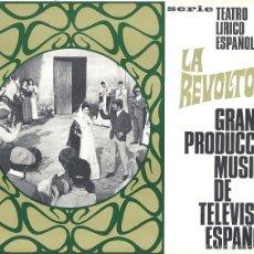 Cinéma: G6205 LA REVOLTOSA JUAN DE ORDUÑA ELISA RAMIREZ GUIA ORIGINAL RTVE ESTRENO. Lote 55104925