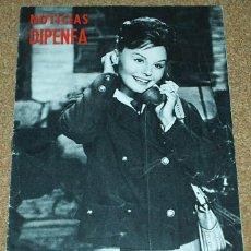 Cine: NOTICIAS DIPENFA - ROCIO DURCAL-GUIA DE 4PG MAS PORTADAS - 1963- IMPORTANTE LEER DESCRIPCIPCION. Lote 55684826