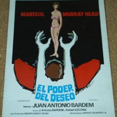 Cine: MARISOL -EL PODER DEL DESEO -GUIA MUY DIFICIL - 1970 MUY BUEN ESTADO, IMPORTANTE LEER TODO. Lote 55684929
