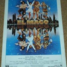 Cine: MICHAEL JACKSON- EL MAGO -GUIA A DOBLE PAGINA MUY DIFICIL - 1973 - MUY BUEN ESTADO-LEER TODO. Lote 55685176