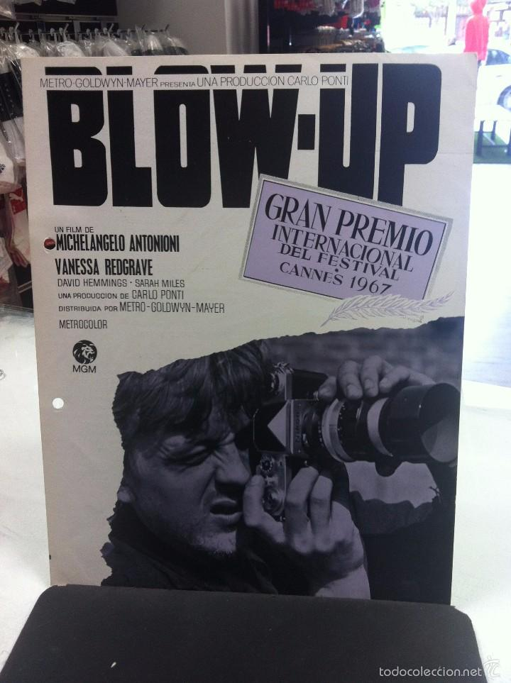 Cine: 3G38-blow up michelangelo antonioni - guia publicitaria original - Foto 1 - 55882563