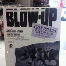 Cine: 3G38-BLOW UP MICHELANGELO ANTONIONI - GUIA PUBLICITARIA ORIGINAL. Lote 55882563