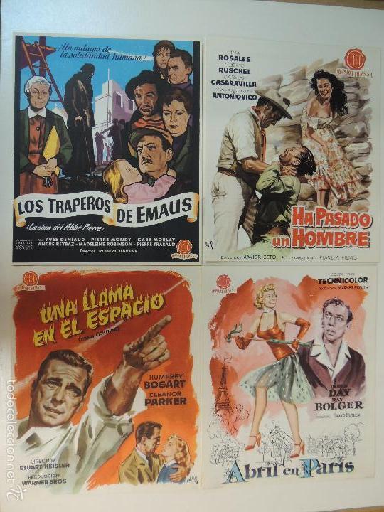 Cine: Catalogo hispamex films 1ª lista temporada 1955 1956 con 9 guias publicitarias originales - Foto 6 - 55946105