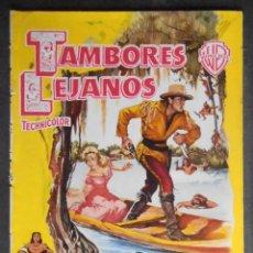 Cine: (1357) TAMBORES LEJANOS,GARY COOPER, GUIA DE CINE DE 8 PAG,23X16 CM APROX, VER FOTOS. Lote 55999995