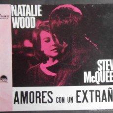 Cine: (1363)AMORES DE UN EXTRAÑO,STEVE MCQUEEN,NATALIE WO,GUIA DE CINE DE 12 PAG,23X16 CM APROX, VER FOTOS. Lote 56000089