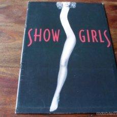 Cine: SHOW GIRLS - ELIZABETH BERKLEY, KYLE MACLACHLAN, GINA GERSHON - DIR. PAUL VERHOEVEN - GUIA DE LUJO. Lote 56085734