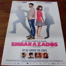 Cine: EMBARAZADOS - PACO LEON, ALEXANDRA JIMENEZ, KARRA ELEJALDE, ERNESTO SEVILLA - GUIA ORIGINAL AÑO 2016. Lote 56177906