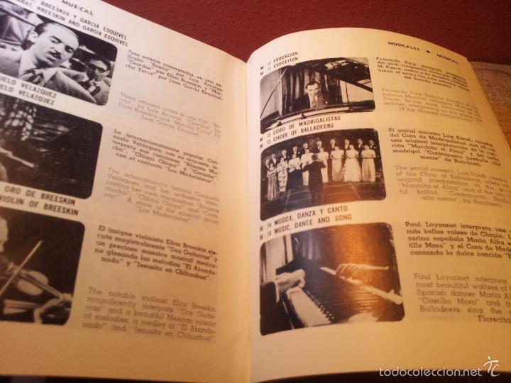 Cine: BOLETIN CINEMATOGRAFICO LUCERNA Nº 90 -MEXICO 1953--CABLE E.M.A.S.A -PELICULAS MEXICANAS - Foto 5 - 56490326