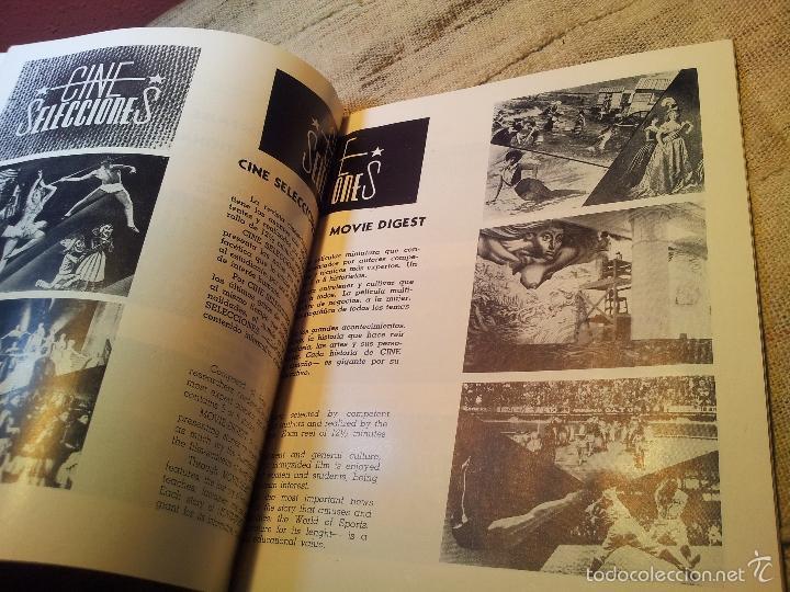 Cine: BOLETIN CINEMATOGRAFICO LUCERNA Nº 90 -MEXICO 1953--CABLE E.M.A.S.A -PELICULAS MEXICANAS - Foto 11 - 56490326