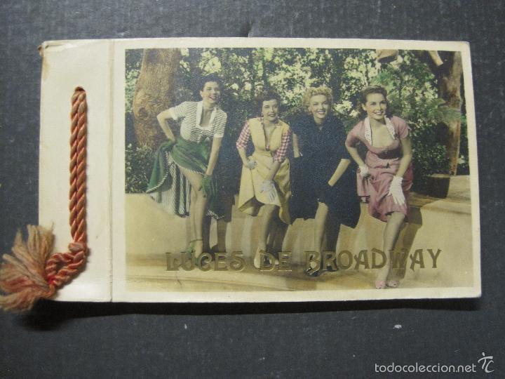 LUCES DE BROADWAY - VICTORY FILMS - LIBRO PUBLICITARIO CON 25 FOTOGRAFIAS - VER FOTOS - (V-5650) (Cine - Guías Publicitarias de Películas )