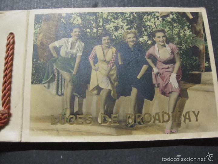 Cine: LUCES DE BROADWAY - VICTORY FILMS - LIBRO PUBLICITARIO CON 25 FOTOGRAFIAS - VER FOTOS - (V-5650) - Foto 2 - 56919600