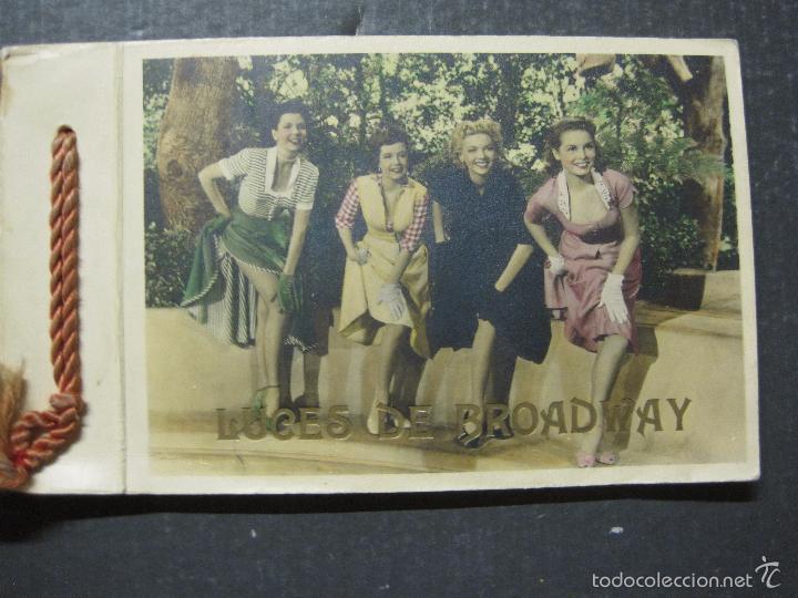 Cine: LUCES DE BROADWAY - VICTORY FILMS - LIBRO PUBLICITARIO CON 25 FOTOGRAFIAS - VER FOTOS - (V-5650) - Foto 3 - 56919600